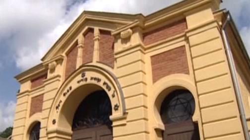 Budova synagogy v Holešově