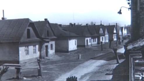 Bývalé židovské ghetto v Holešově