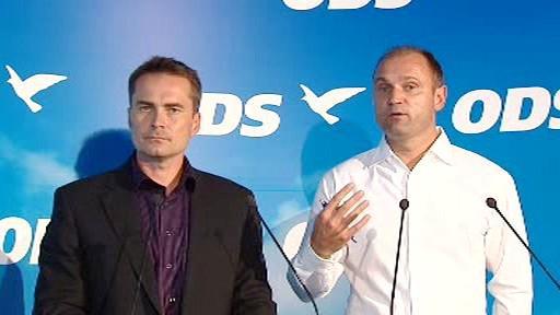 David Vodrážka a Ivan Langer