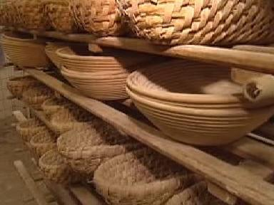 Pekařské ošatky pro přípravu chleba