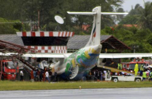 Nehoda letadla v Thajsku