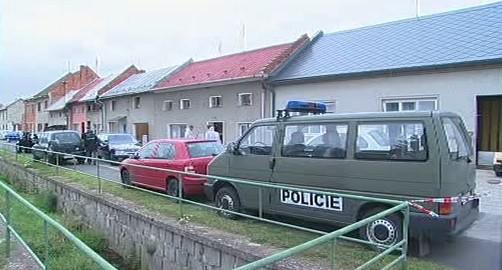 Policie na místě činu