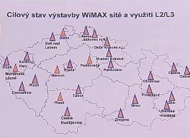 Rozšíření sítě WiMax