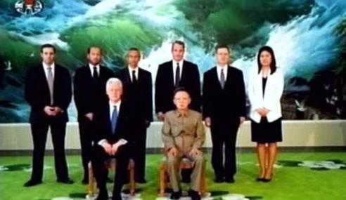 Bill Clinton a Kim Čong-il