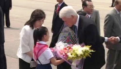 Bill Clinton na návštěvě KLDR