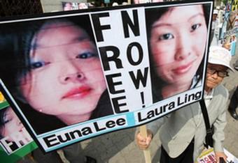 Euna Lee a Laura Ling