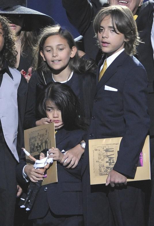 Děti Michaela Jacksona