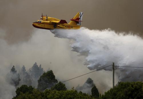 Hašení lesních požárů ve Španělsku