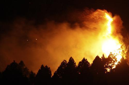 Lesní požáry ve Španělsku