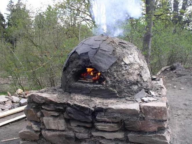 Středověká řemesla / chlebová pec
