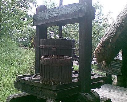 Středověká řemesla / lis