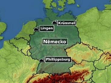 Poruchy německých jaderných elektráren