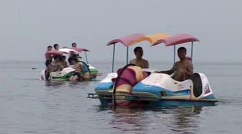 Číňané na dovolené u moře