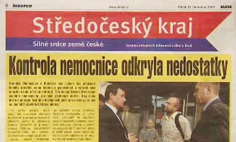 Inzerce Středočeského kraje