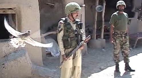 Voják pákistánské armády
