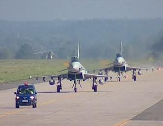 Letadla Eurofighter