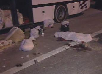 Oběti nehody autobusu ve Španělsku