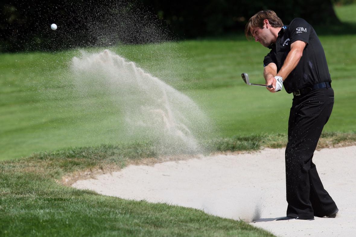 Golfista Raphael Jacquelin