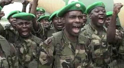 Nigerijší vojáci