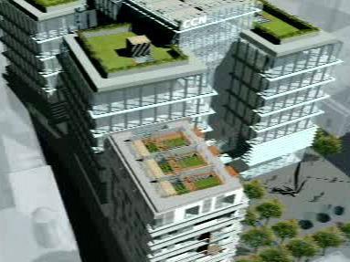 Projekt komplexu Copa Centrum