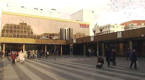 Obchodní dům Tesco na Národní třídě