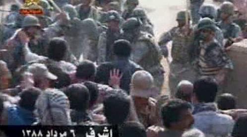 Zásah Iráku proti Lidovým modžáhedům