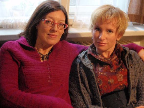 Tamara Archlebová a Zuzana Piussi (zleva)