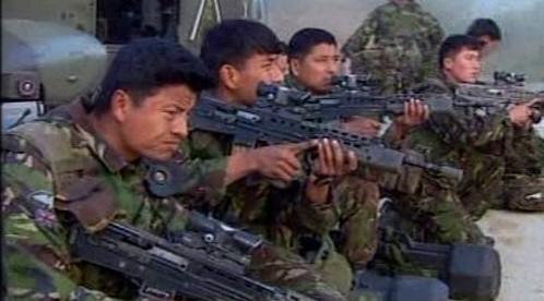 Gurkhové v britské armádě