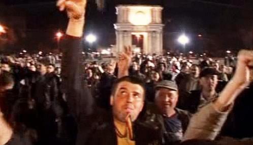Demonstrace v Moldavsku