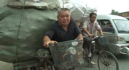 Čínský sběrač odpadu
