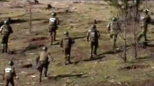 Zásah chiilské policie proti Mapucheům