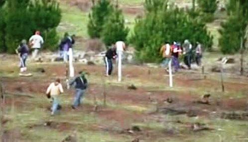 Chilští indiáni kmene Mapuche