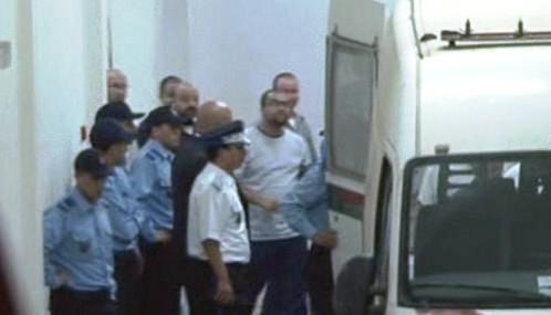 Marocká policie převáží Abdelkadera Belliraje