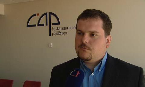 Michal Šimon z České asociace pojišťoven