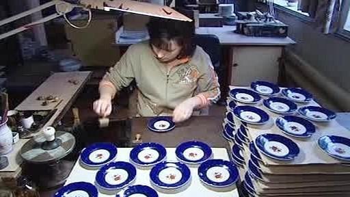 Zdobení porcelánu