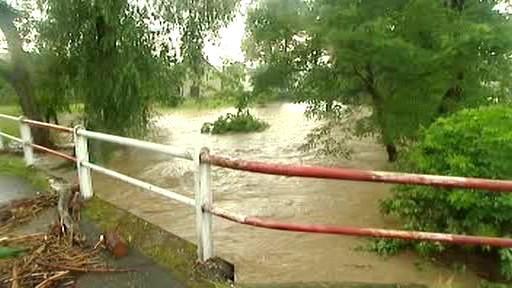 Rozvodněná řeka