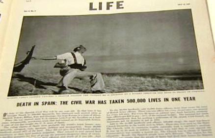 Slavný snímek umírajícího vojáka