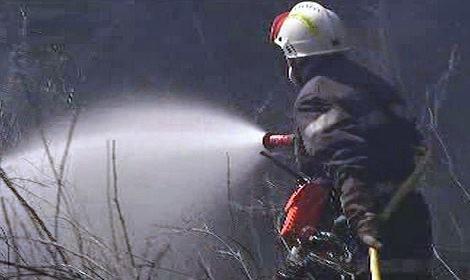 Požáry na jihu Evropy