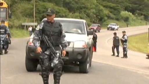 Bezpečnostní opatření na hranicích Hondurasu