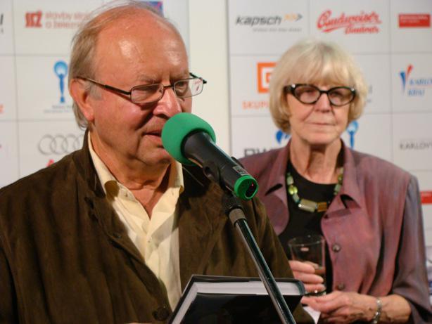 Ivan Passer a Eva Zaoralová