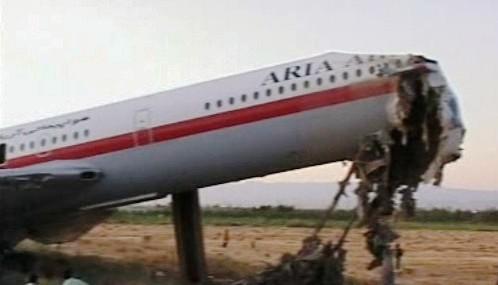 Havárie íránského letadla