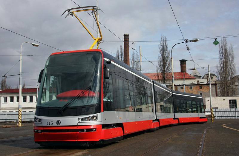 Nová tramvaj Škoda ForCity
