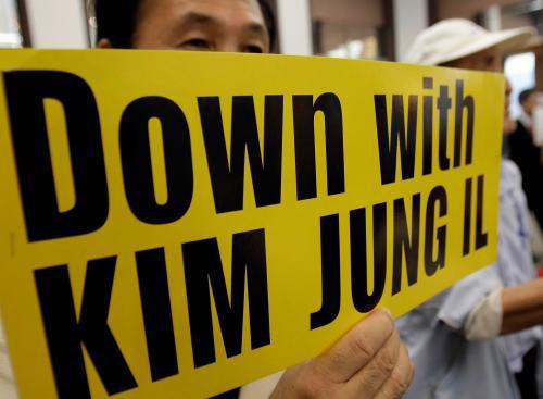Jihokorejské protesty proti popravě křesťanské aktivistky v KLDR