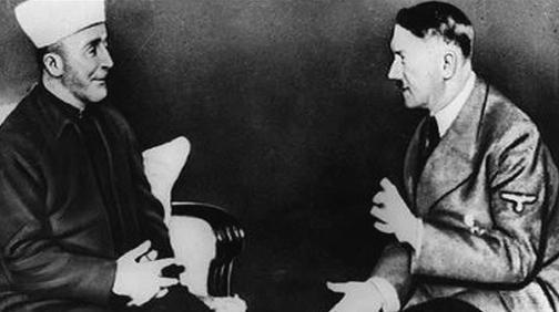Amín Husajní s Adolfem Hitlerem