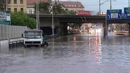 Povodeň v Brně