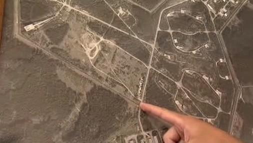 Plán pozemku pro novou věznici