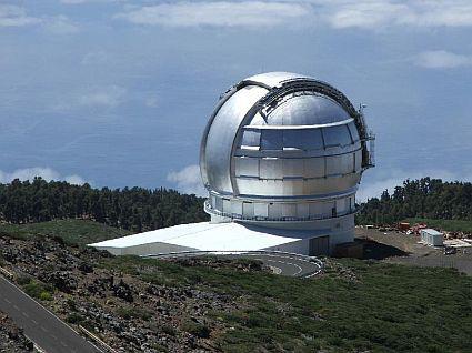Velký kanárský teleskop
