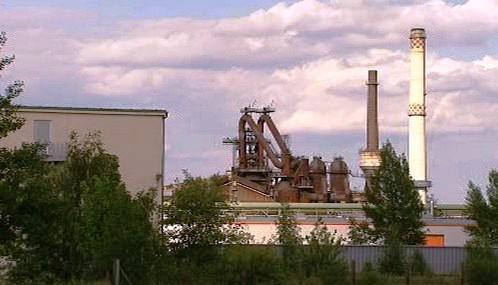 Východoněmecký Eisenhüttenstadt