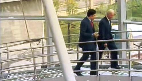 Michail Saakašvili a Joe Biden