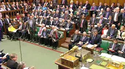 Britští poslanci